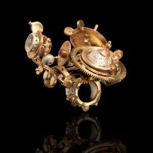Anello Astrolabio Lunare