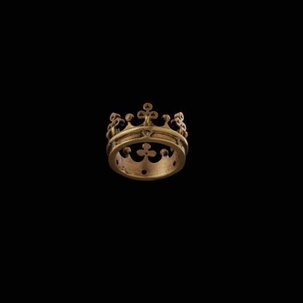 Corona Fiorita in Bronzo