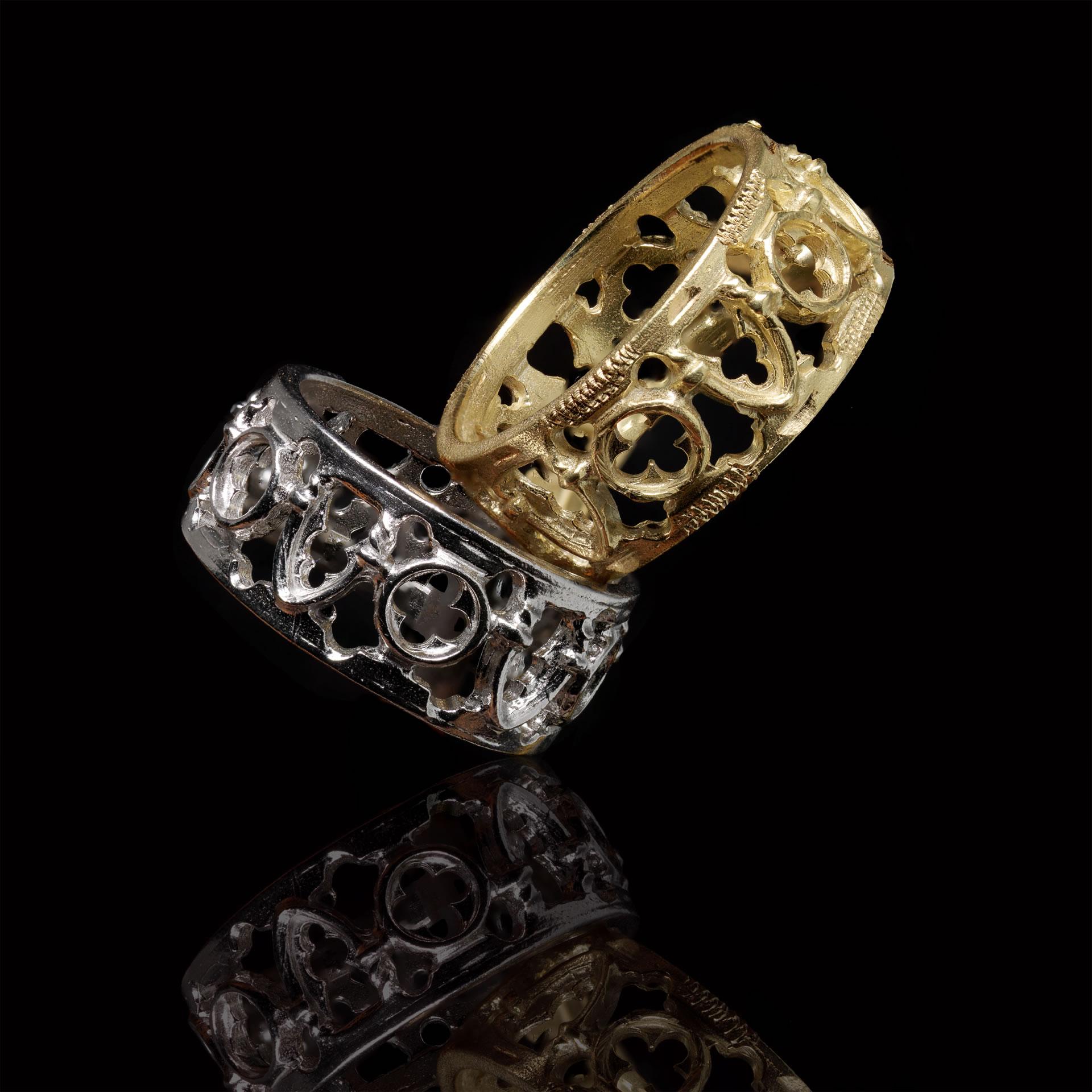 Venetian Wedding Rings